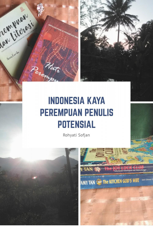 Indonesia Kaya Perempuan Penulis Potensial