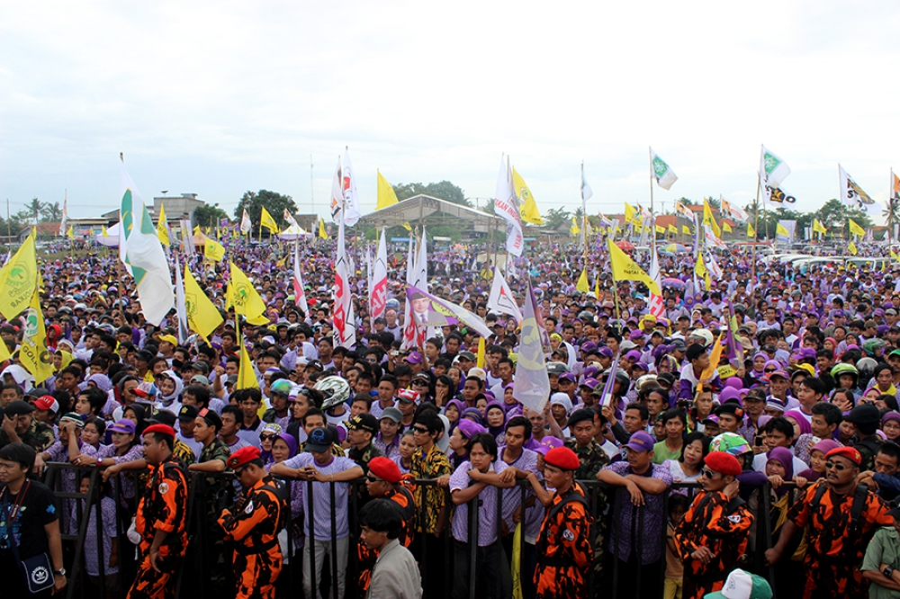 Indonesia's strong base for democratic development