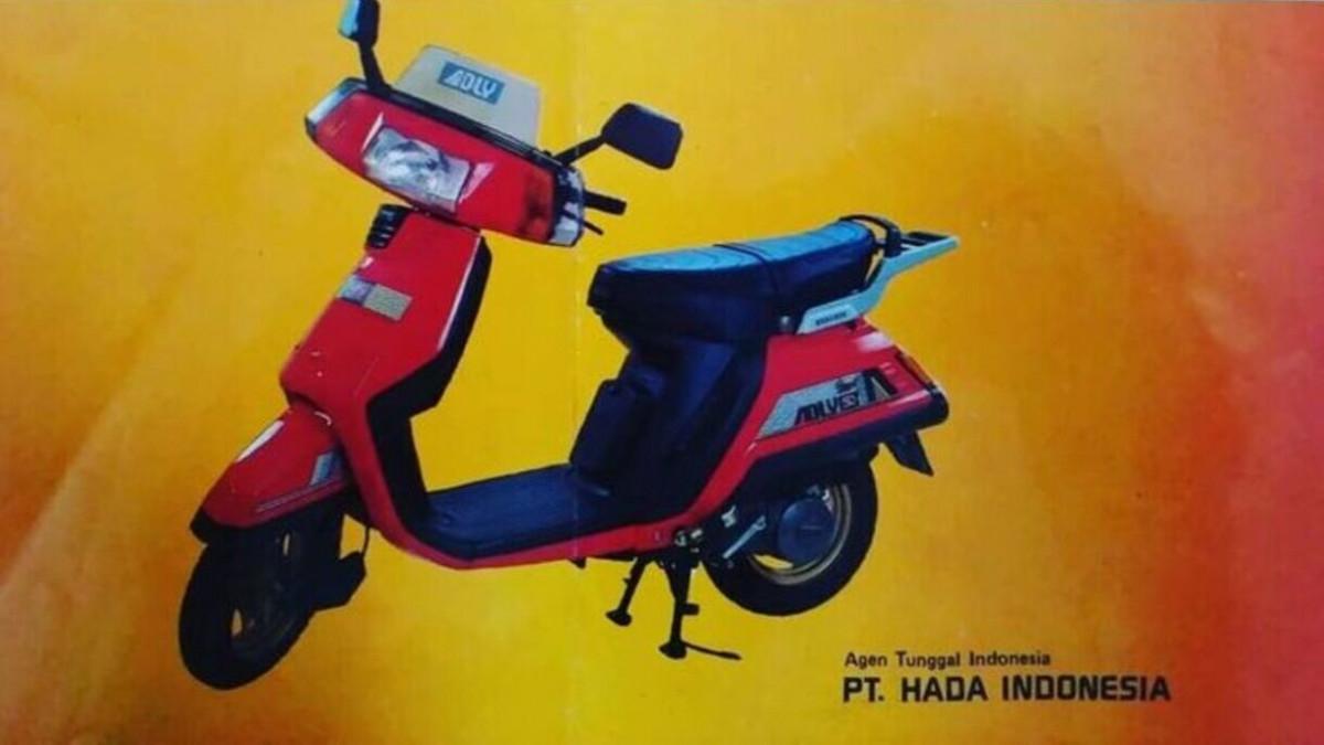 Bukan Yamaha Mio atau Vespa Corsa, Ternyata Ini Skuter Matic Pertama di Indonesia