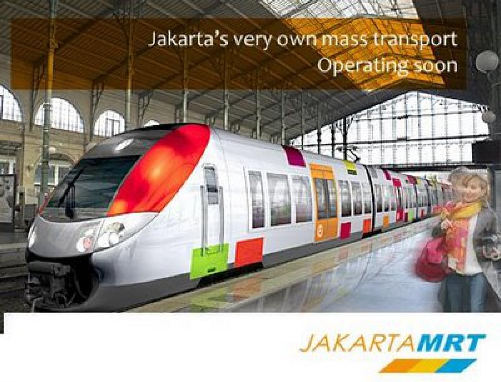 Jakarta's Very Own Mass Rapid Transit (MRT)