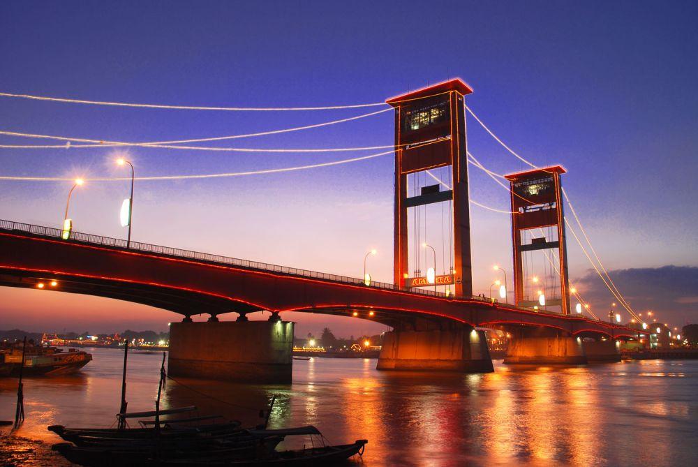 Jembatan Ampera, Ikon Kebanggaan Kota Tertua di Indonesia
