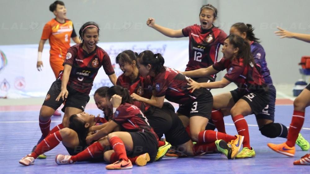 Para Angels Futsal Indonesia Berhasil Raih Juara di Myanmar