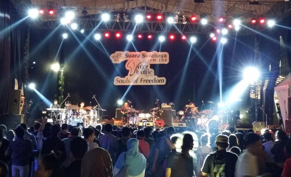 Jazz Traffic Festival 2017 Jadi Ikon Ajang Musik Kebanggan Surabaya