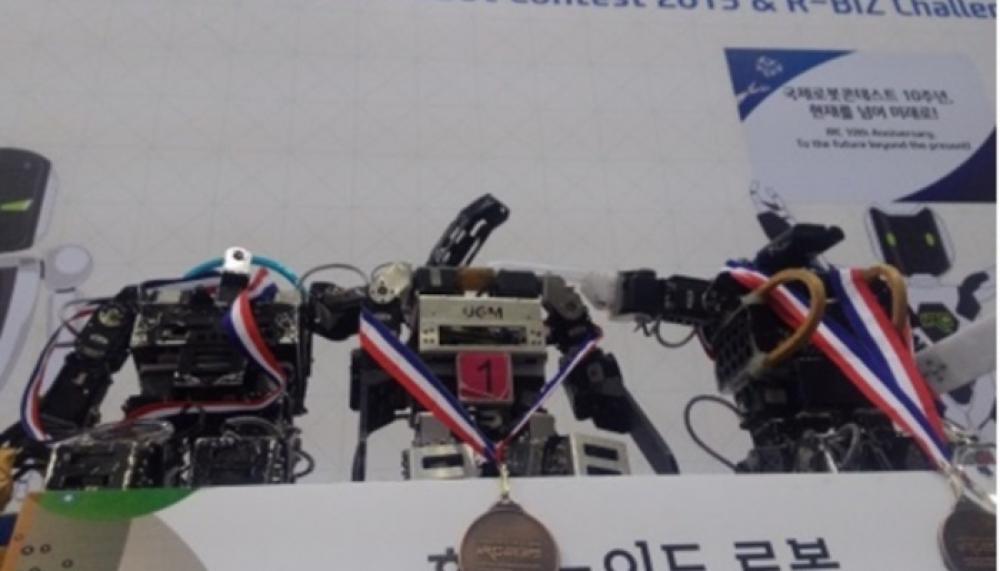 Kalahkan Jepang, Robot Karya UGM ini Raih Medali di Korea Selatan