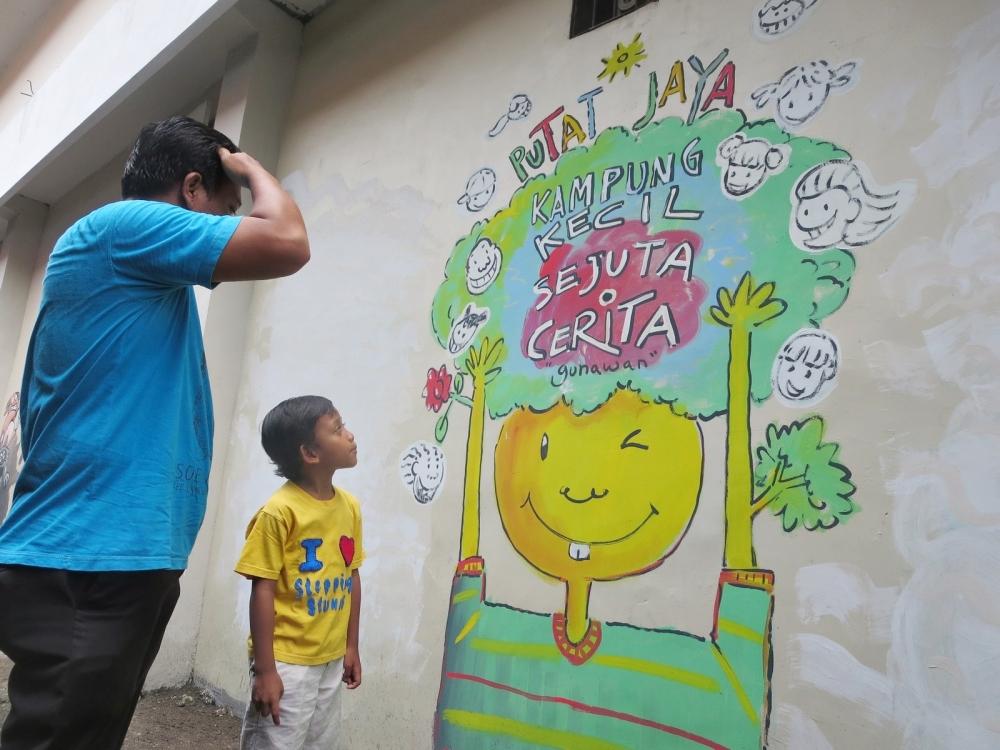 Kampung Wisata Seni Mural, Wajah Baru Eks Lokalisasi Dolly