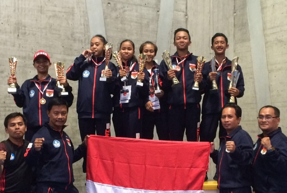 Atlet Karate Indonesia Borong Medali di Swiss
