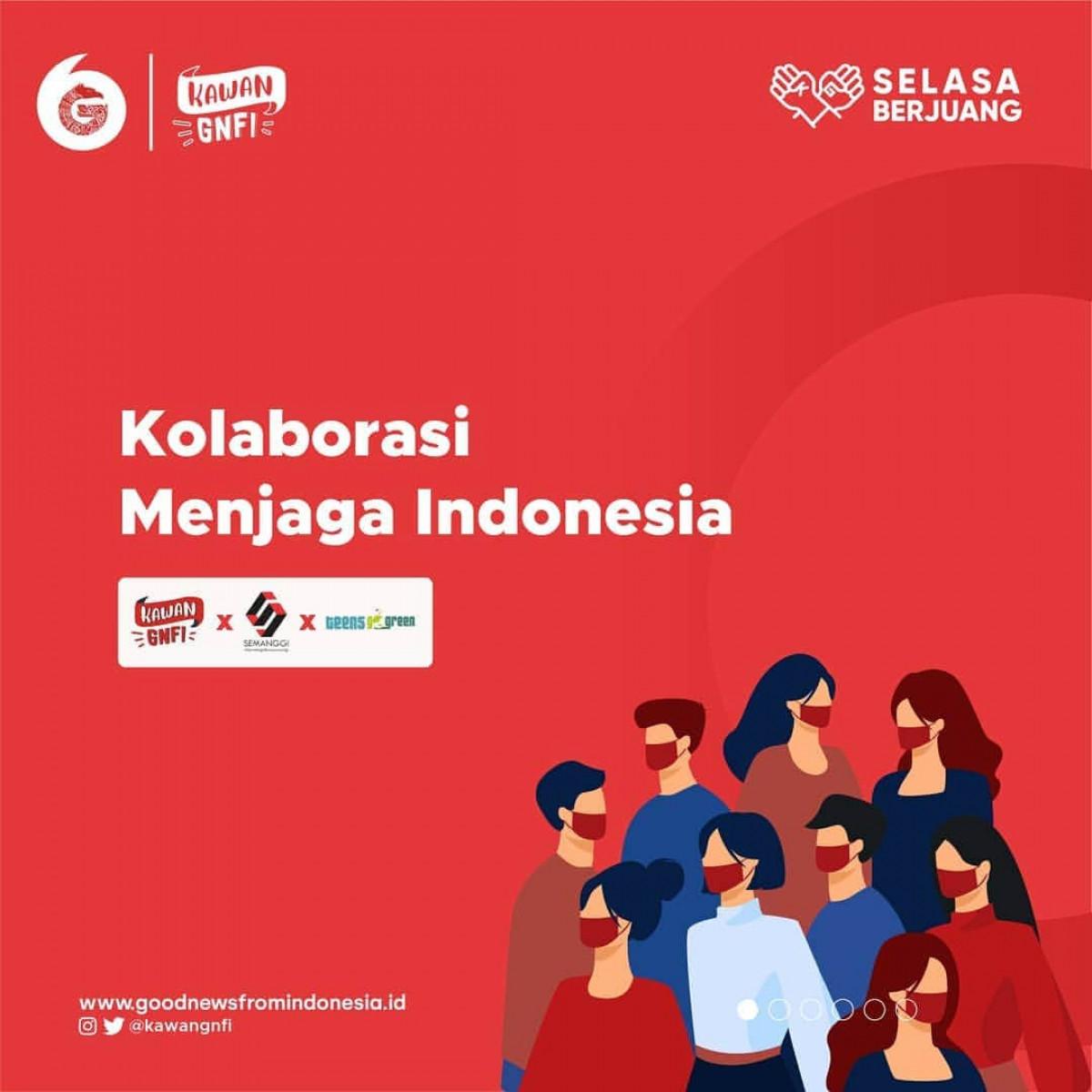 Kolaborasi Kawan GNFI dan Komunitas Daerah, Sebuah Upaya untuk Terus Menjaga Indonesia