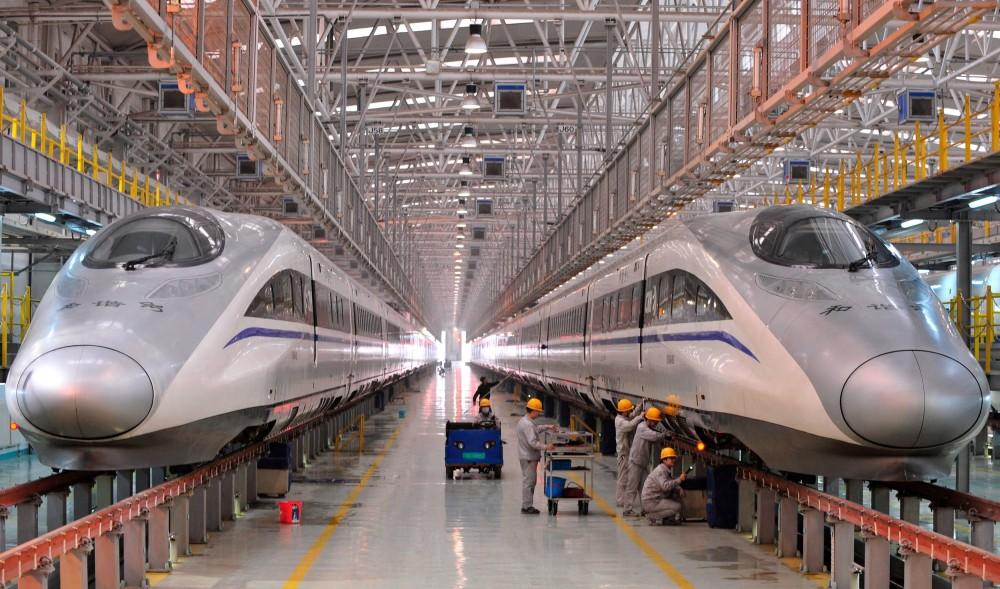 Image Result For Konstruksi Kereta Cepat Jakarta Bandung