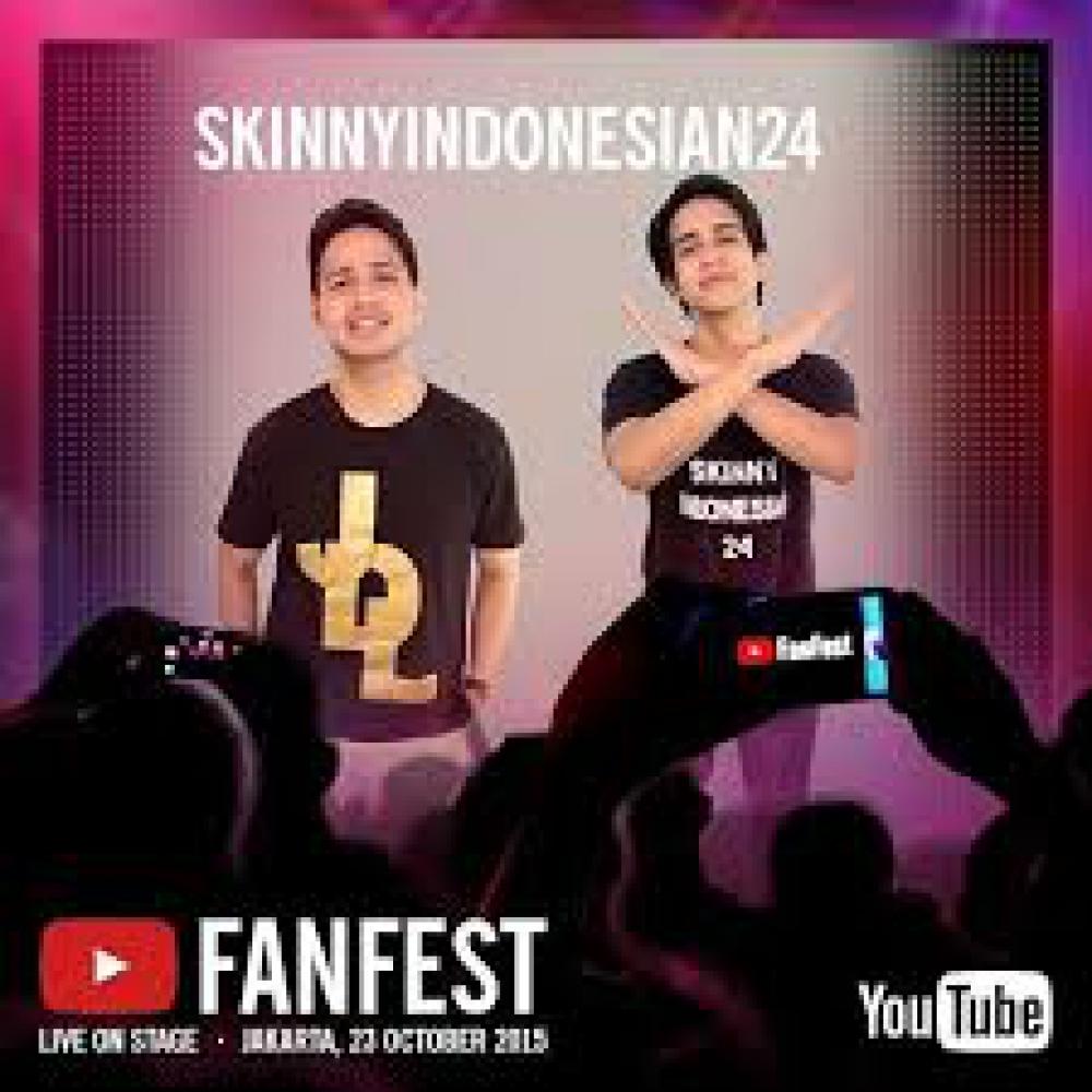 Kolaborasi Youtubers Asing dengan Youtubers Lokal, di Youtube Fanfest Indonesia