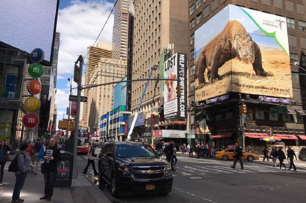 Wonderful Indonesia Mejeng Lagi di Times Square, New York!