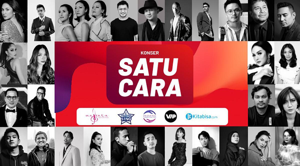 Konser Amal Digital Musisi Indonesia Peduli Covid-19