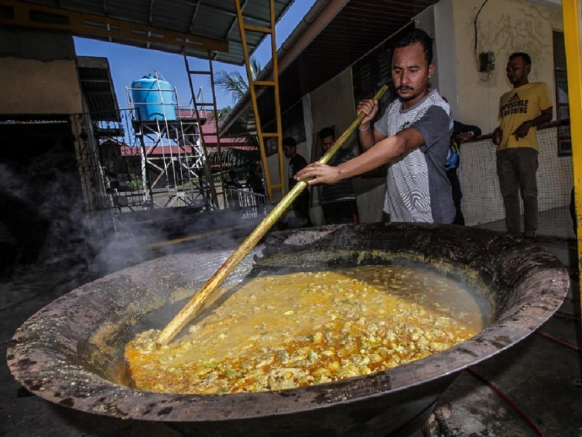 Kuah Beulangong, Sajian Kuliner Khas Serambi Mekkah yang Hanya Boleh Dimasak Kaum Pria