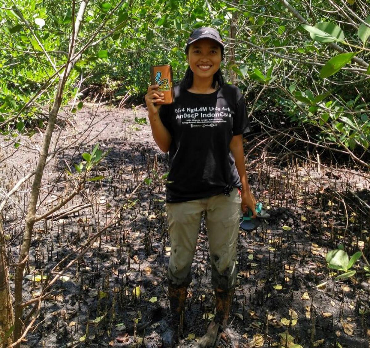 Lia Putrinda Anggawa, Sosok Milenial Menginspirasi Pendongkrak Ekowisata Bahari