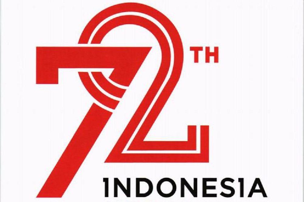 Mengenal Makna Logo Resmi HUT RI ke-72