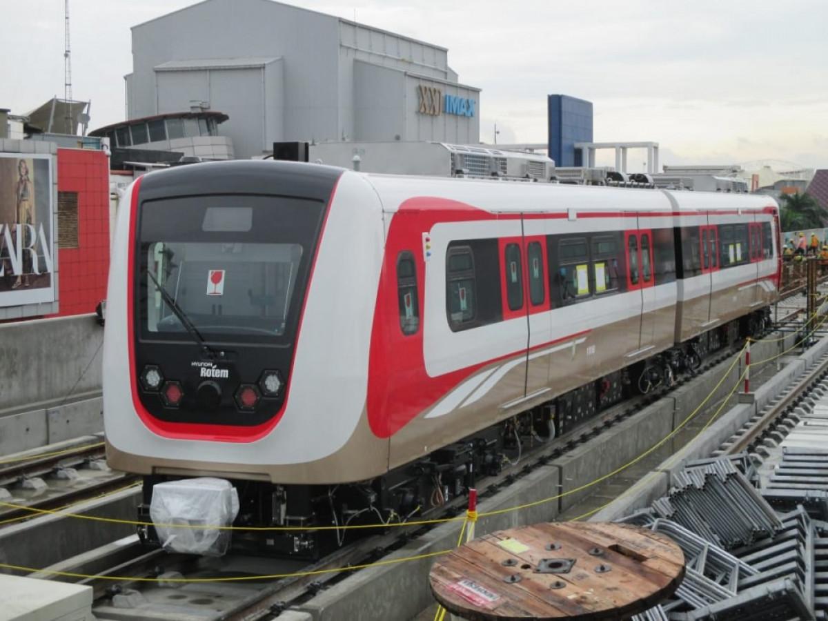 LRT Jabodebek Ditargetkan Beroperasi Juni 2022