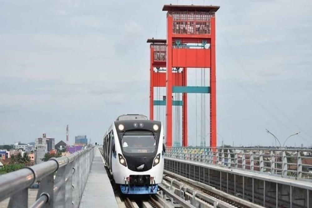 Konektivitas LRT Palembang Kini Semakin Bertambah