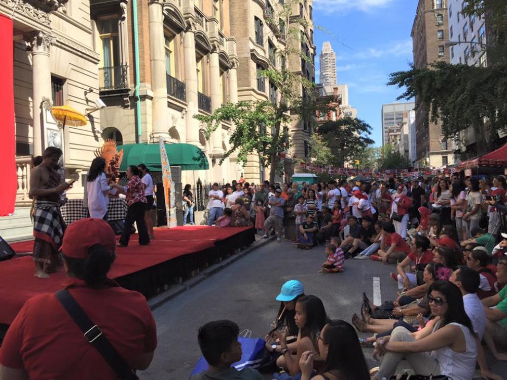 Luar Biasa! Indonesian Street Festival Perdana di New York, Amerika Serikat