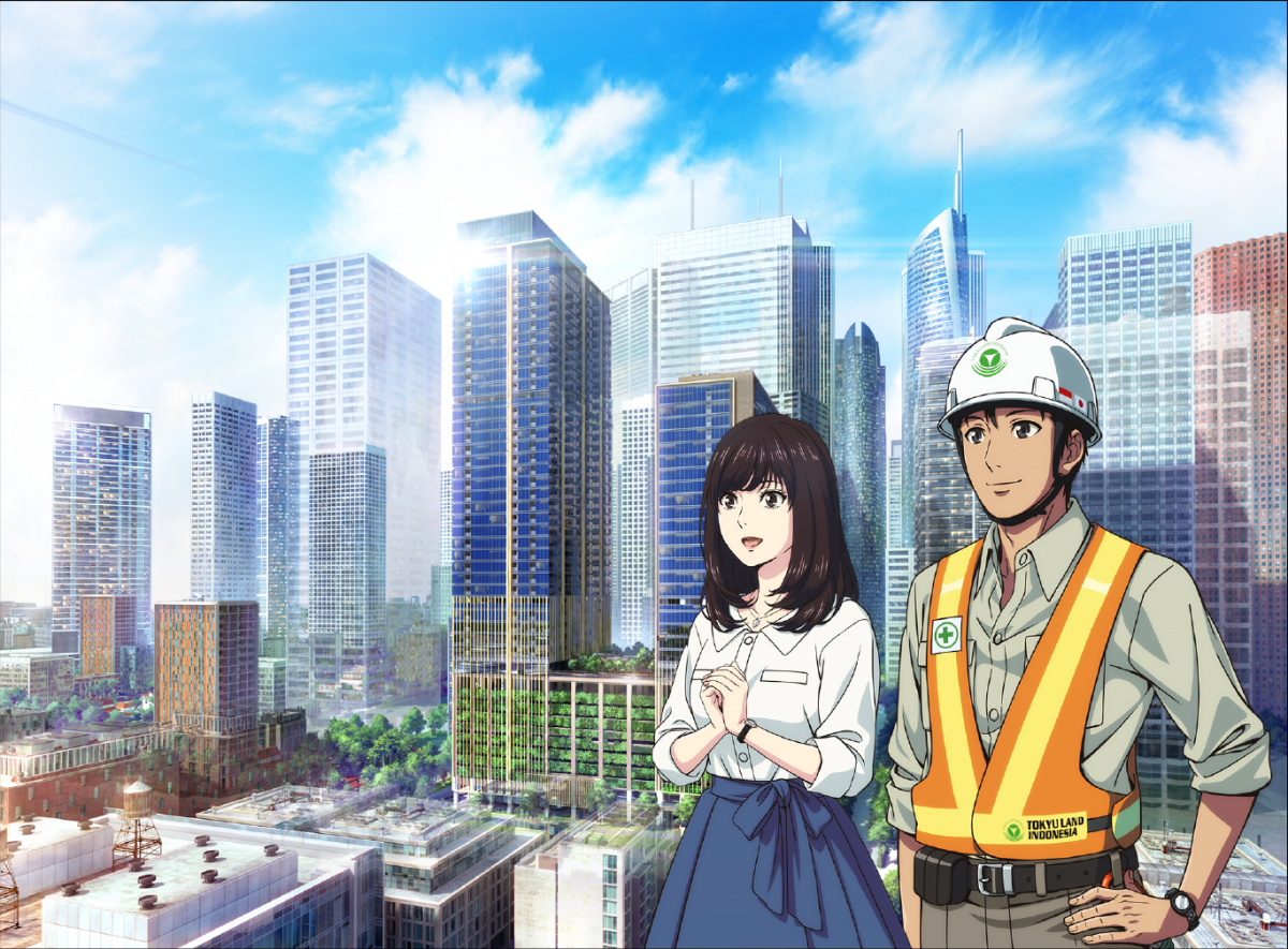 BRANZ Mega Kuningan, Anime Pendek Berlatar Indonesia