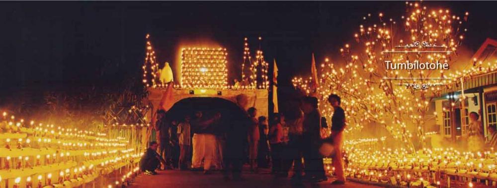 Malam Tumbilotohe: Menikmati Gorontalo yang Ramai Berhiasakan Lampu