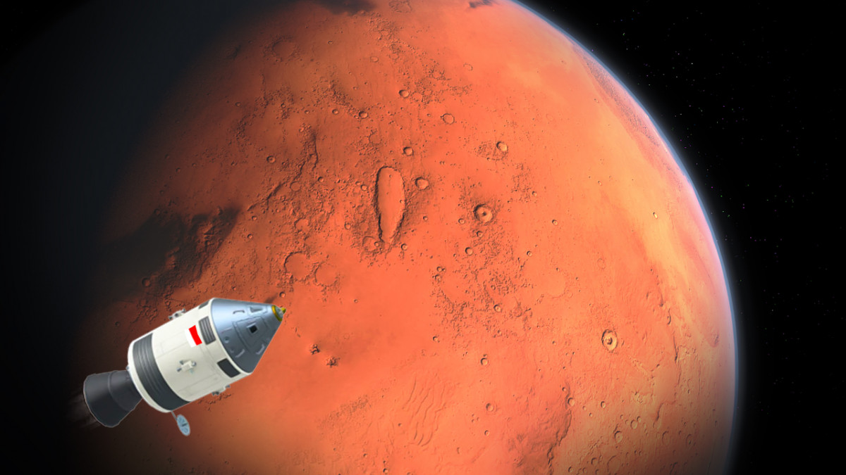 Menunggu Misi Indonesia ke Planet Mars