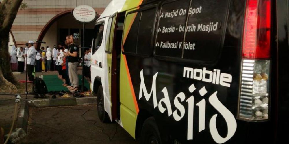 Inovasi Dari Bandung : Masjid Portable Pertama Di Indonesia
