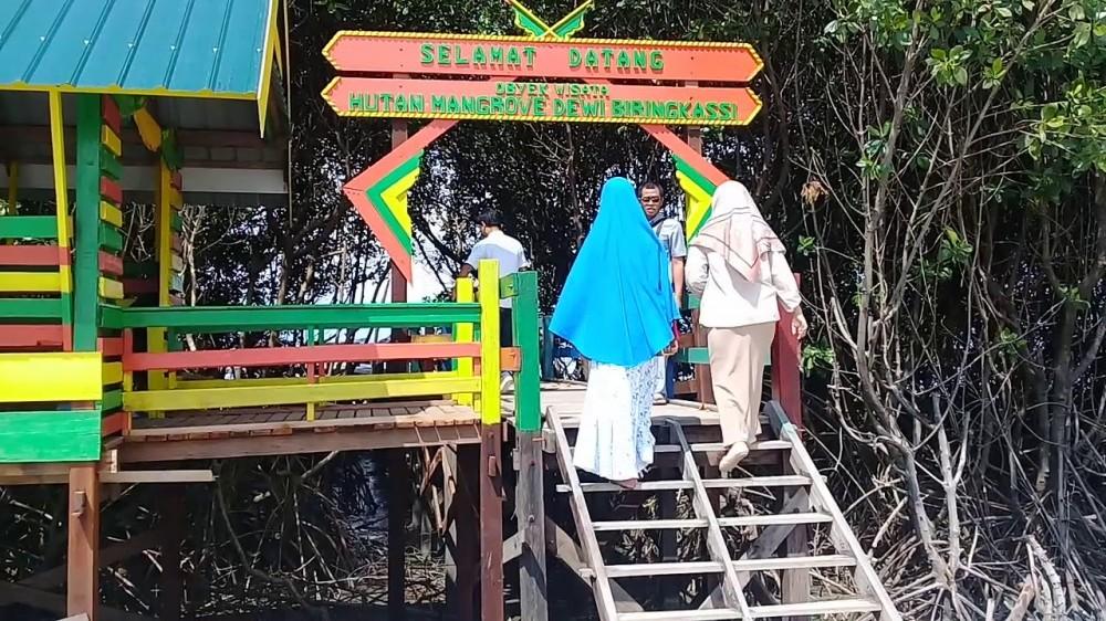 Tanam Mangrove demi Keanekaragaman Hayati di Desa Bulu Cindea