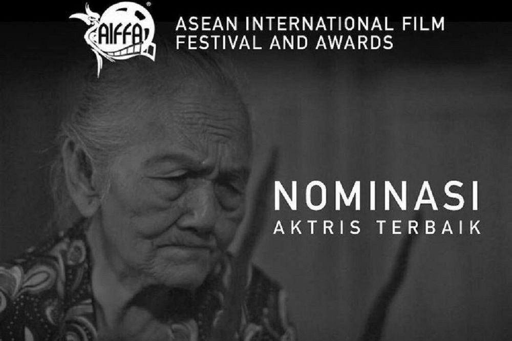 Mbah Ponco Sutiyem yang Jadi Nominee Aktris Terbaik di AIFFA 2017