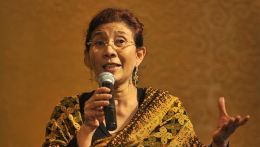 Menteri Susi Raih Penghargaan Dunia