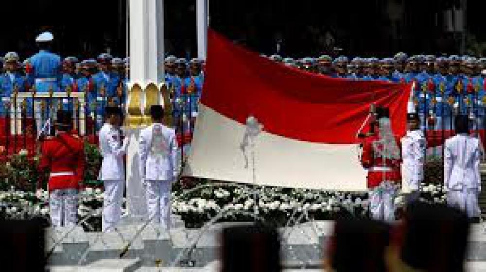 Merah Putih, Umbul - Umbul dan Bhayangkara
