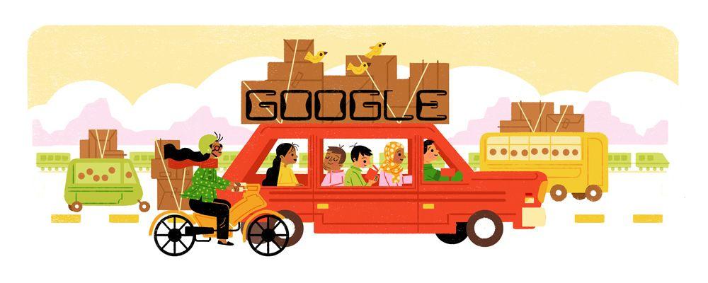 Dan Google Pun Rayakan Mudik...