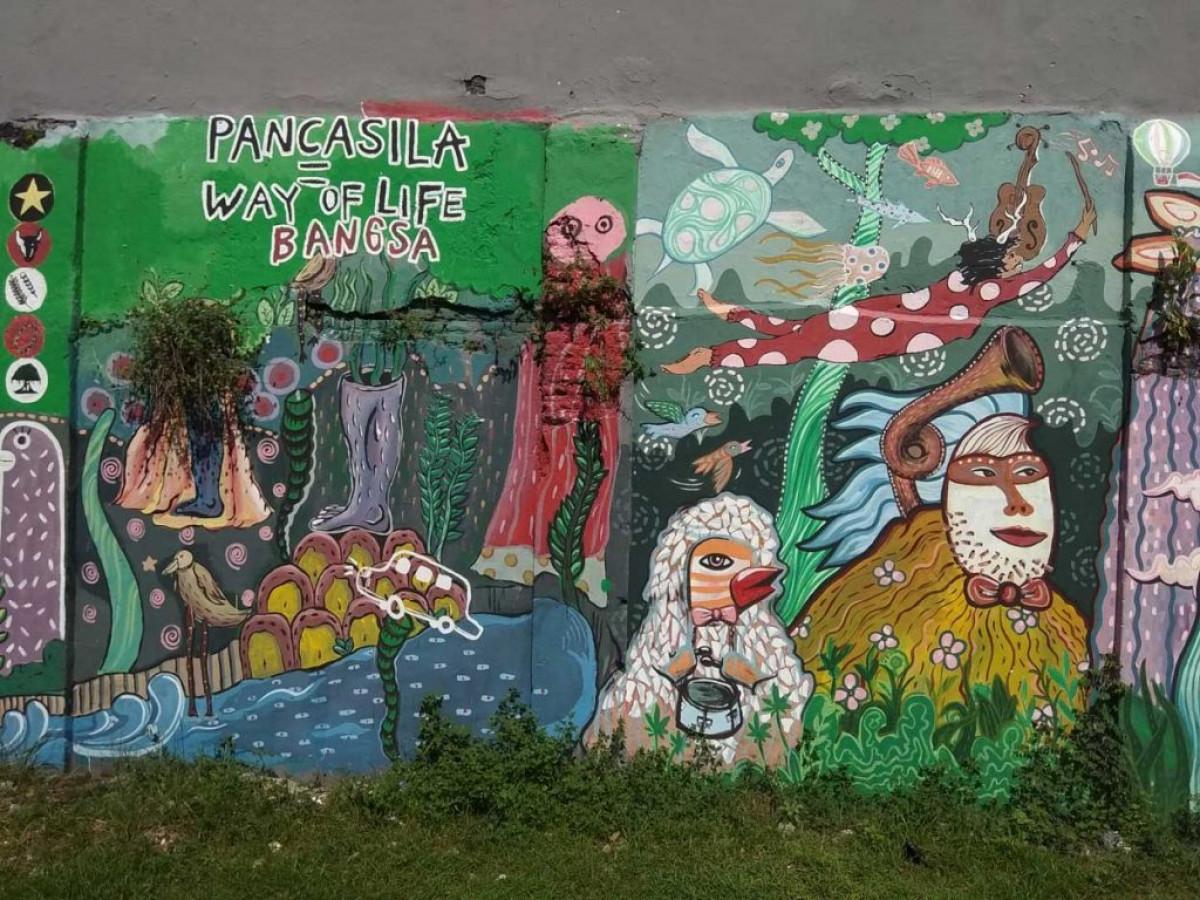 Jajaran Seniman Mural Indonesia dengan Karya yang Mendunia