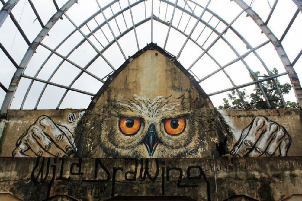 Mural Karya Seniman Bali Masuk dalam daftar