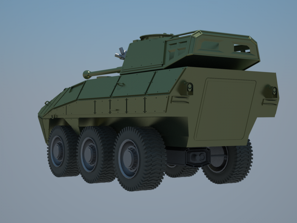 New Armored Personnel Carrier (APC) Made In Indonesia