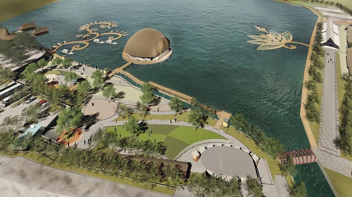 Diklaim Terbaik se-Jawa Barat, Akan Ada Pulau Nusa Kelapa di Garut