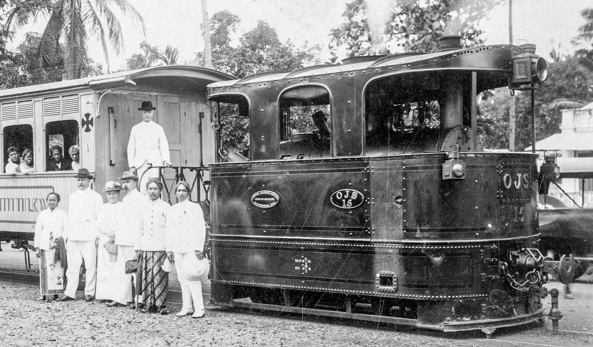 Sejarah Hari Ini (15 April 1890) - Trem Surabaya Buka Trayek Baru ke Stasiun Grudo
