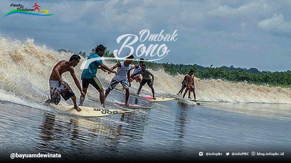 Ombak Bono Wisata Daerah yang Mendunia