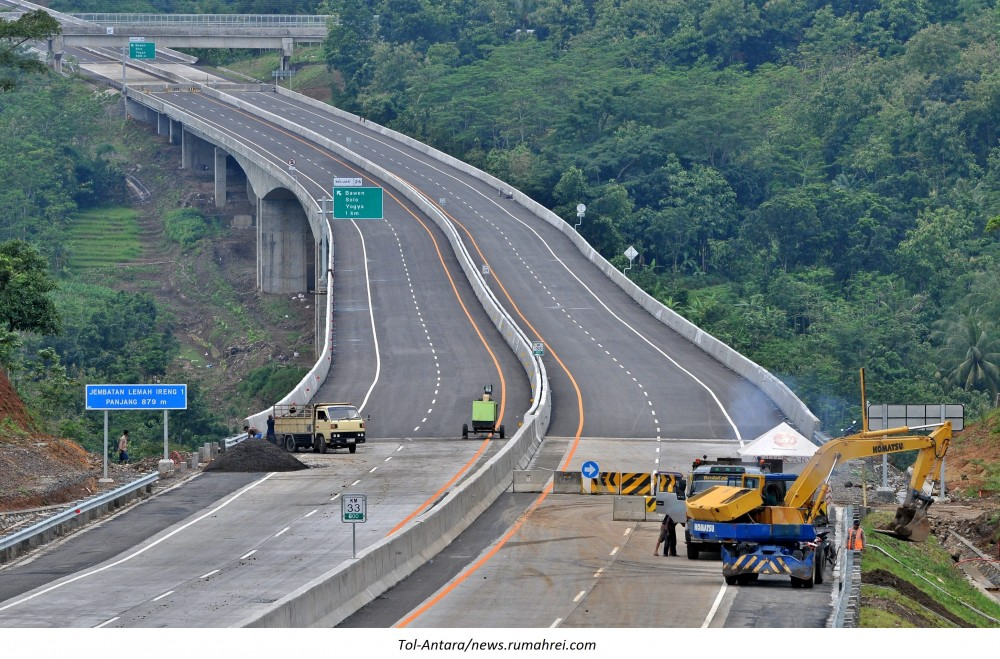 Jalan Tol Bocimi (Bogor-Ciawi-Sukabumi) Akan Beroperasi Pada Awal September 2018