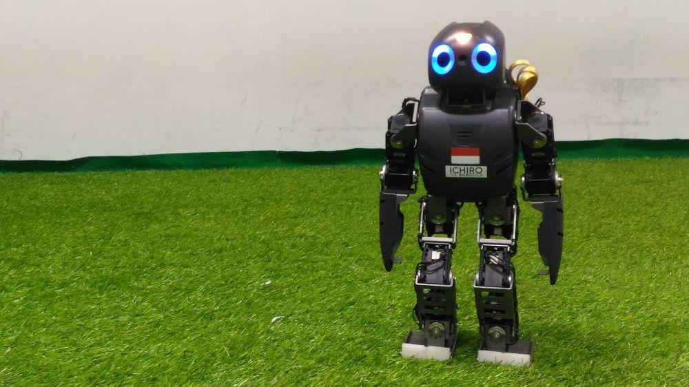 Ini Dia Robot Humanoid Karya Mahasiswa ITS yang Jadi Juara Dunia