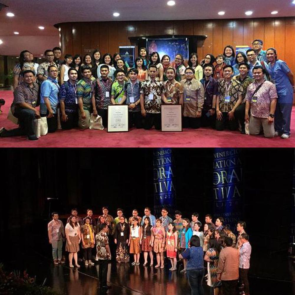 Paduan Suara Indonesia Raih Juara dalam International Choral Festival Manila