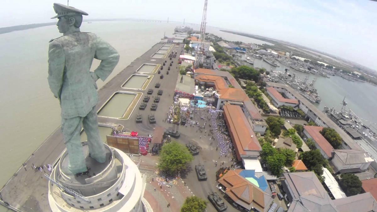 Kota Angkatan Laut itu Adalah Surabaya