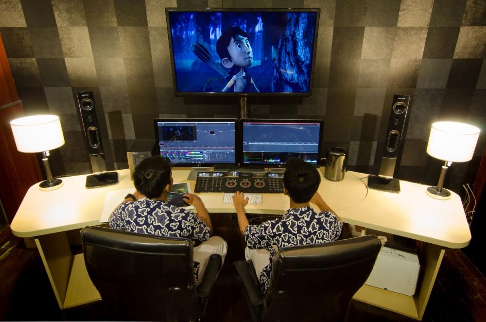 Pasoa & Sang Pemberani, Animasi 3D  Karya Anak Negeri