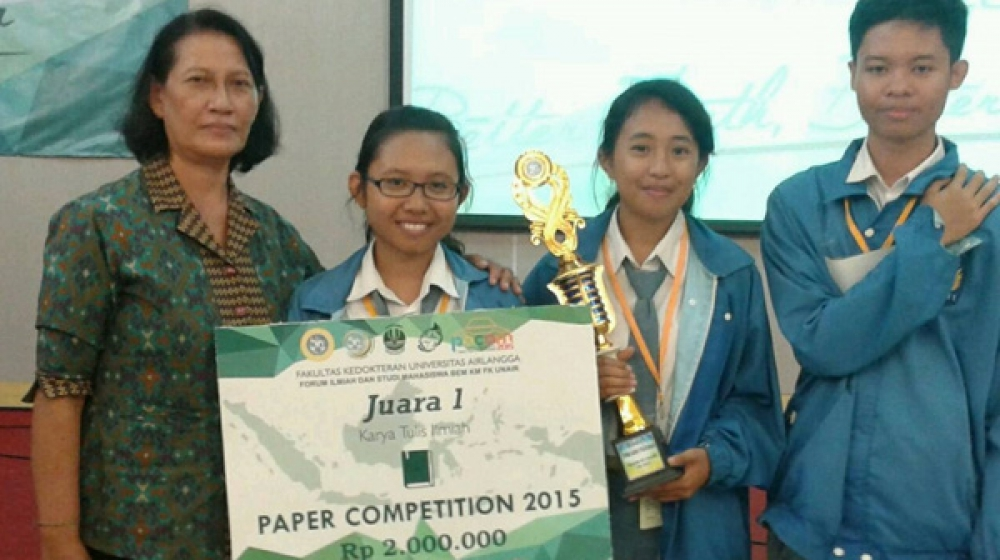 Pelajar SMA Singaraja, Sukses Buat Obat Kulit Herbal ...
