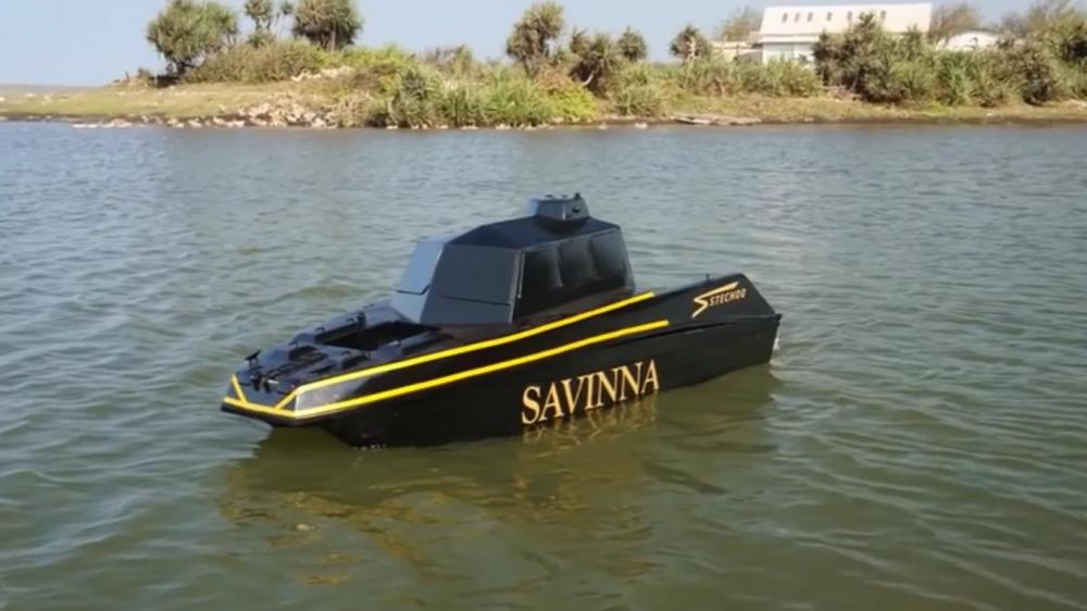 Pemuda Alumnus UGM Ciptakan Drone Laut
