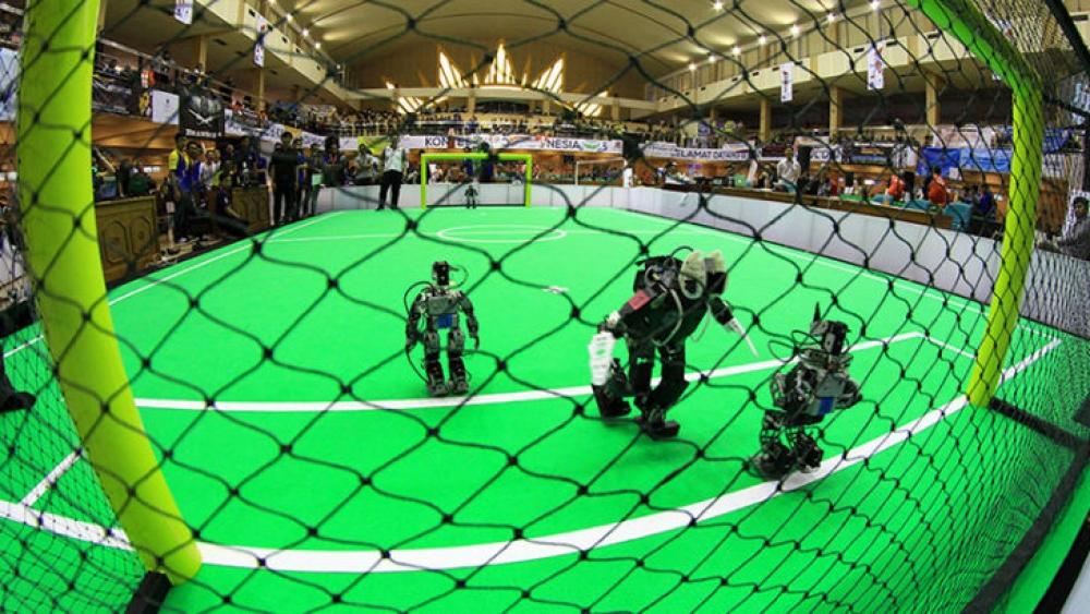 PENS Borong Juara dalam Kontes Robot Indonesia