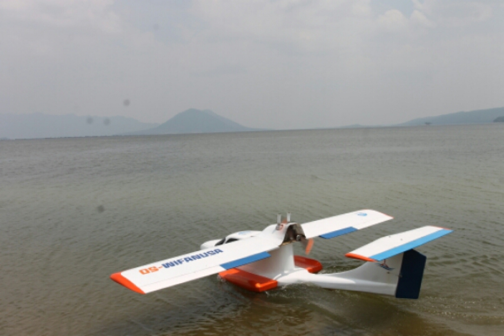 Pesawat Amfibi OS-Wifanusa karya Anak Bangsa