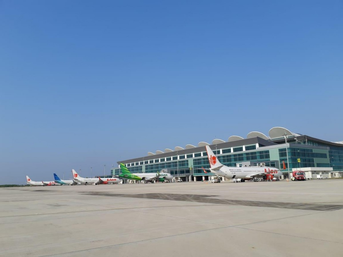 Load Factor Bandara Kertajati Naik 50%