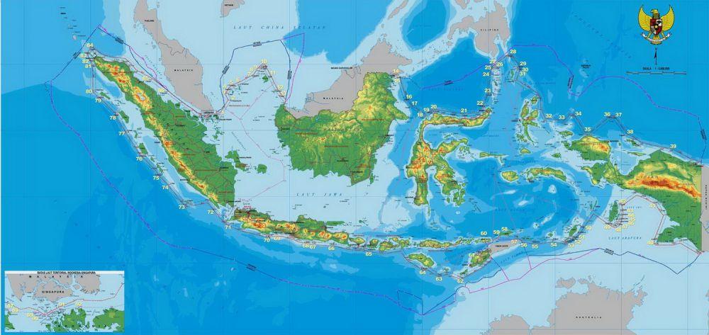 Peta Indonesia Diperbarui Begini Perbedaannya Dengan Peta Lama Good News From Indonesia