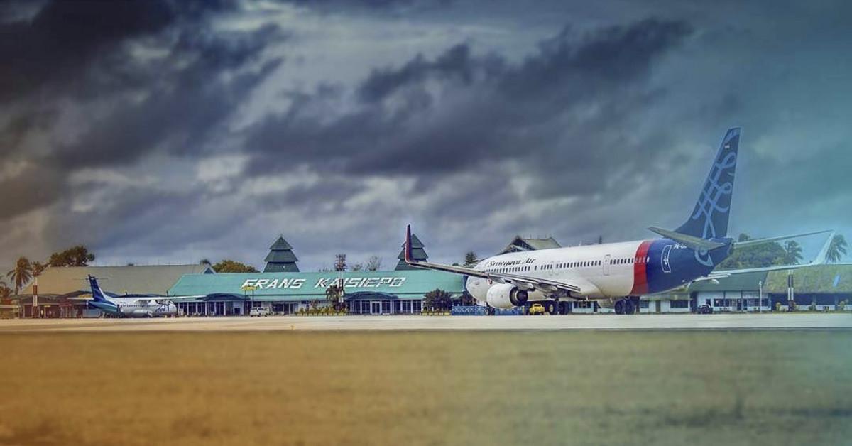 Kisah Bandara Frans Kaisiepo Papua yang Punya Penerbangan Langsung ke Hawaii