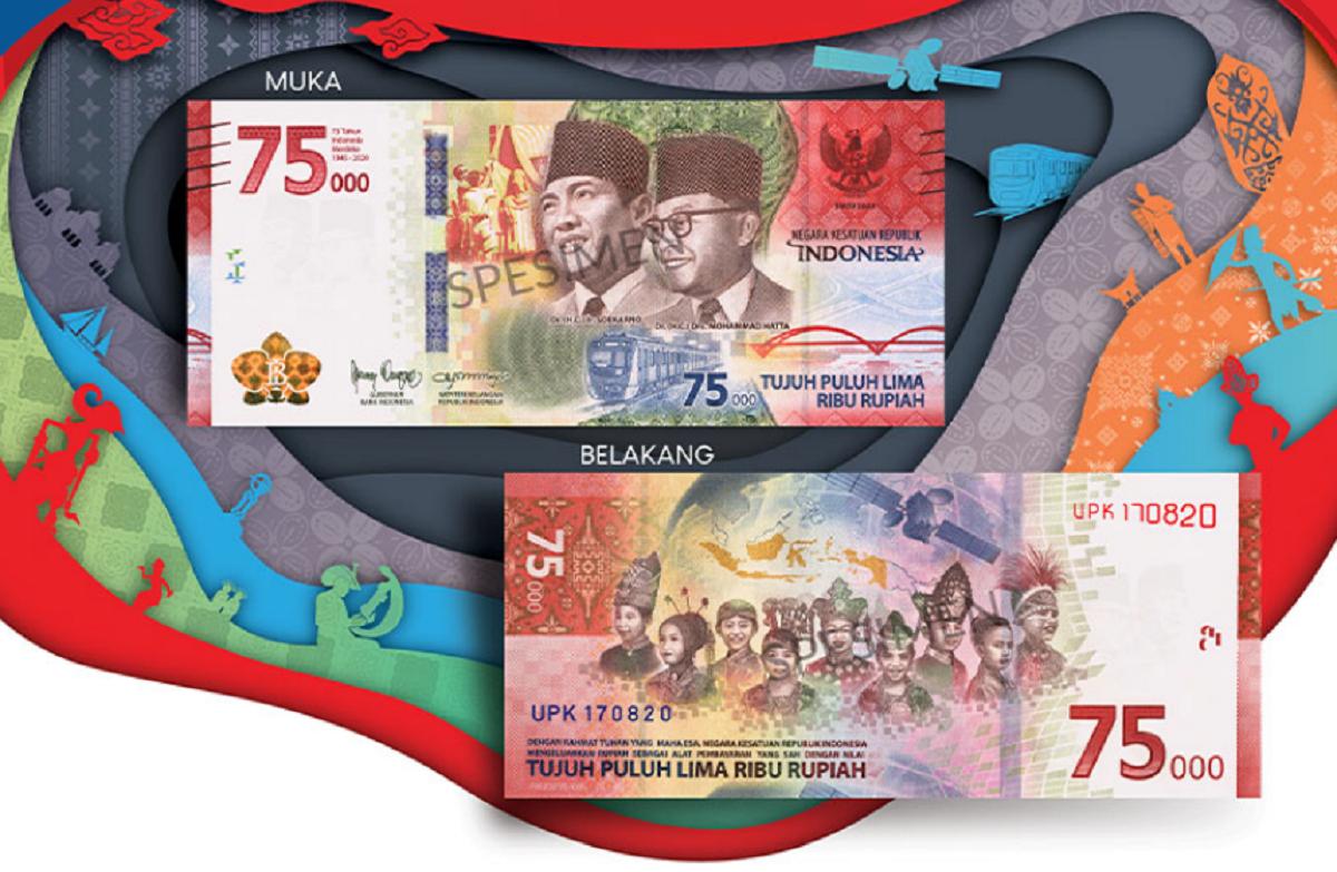 Rilis Uang Rupiah Khusus HUT RI ke-75, Para Numismatis Bersiap 'Berburu'