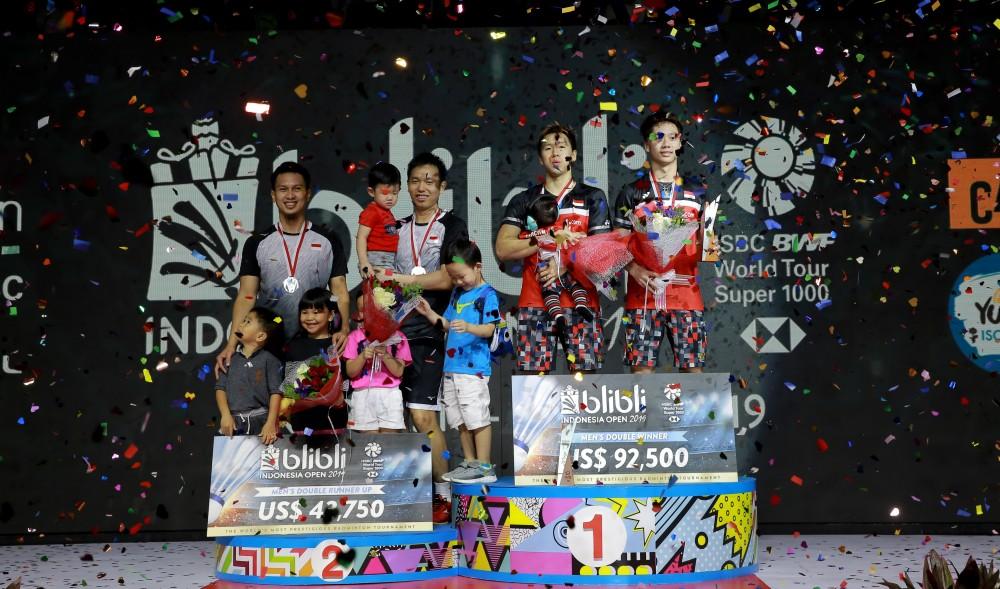 Batik dan Blangkon Warnai Blibli Indonesia Open 2019